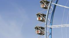 Oktoberfest Munich Germany, Beer Festival, Ferris Wheel Stock Footage
