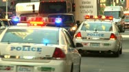 LP NYpolice 01 Stock Footage