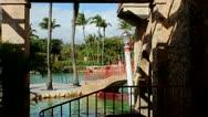 Venetian Pool area Stock Footage