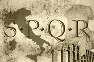 Stock Photo of spqr
