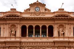 Casa rosada buenos aires Stock Photos