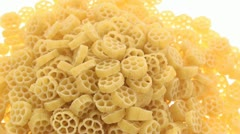 Chamber pasta zoom in Stock Footage