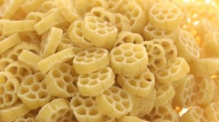 Chamber pasta zoom in 2 Stock Footage