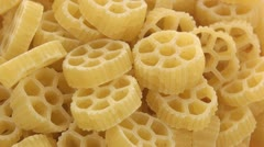Chamber pasta zoom out Stock Footage