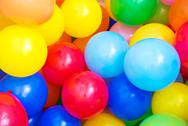 Stock Photo of colored balloons
