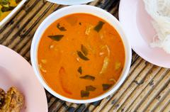 red curry - stock photo