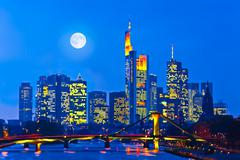 Frankfurt am Main, Germany - stock photo