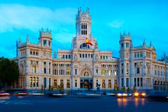 Madrid, Spain - stock photo