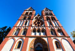 Limburg Cathedral, Germany - stock photo