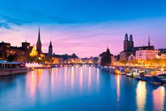 Zurich, Switzerland - stock photo