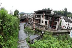 Stock Photo of The small village Xiao Likeng, China