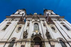 St. Nicholas Church, Prague, Czech Republic Stock Photos