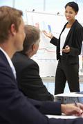 Business presentation Stock Photos