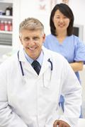 Portrait of medical professionals Stock Photos