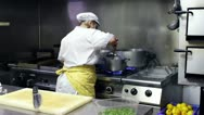 Stock Video Footage of Chef  in a italian restaurant