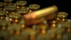 bullets 1 - stock footage
