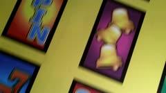 Gambling Slots Stock Footage