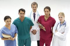 Group of medical professionals - stock photo
