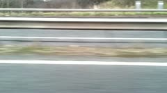 Motorway - stock footage
