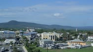 HD Stock Footage 1080p - Wide Shot - Downtown, Historic Falmouth Jamaica Port Stock Footage