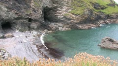 Cornwall, Great Britain - stock footage