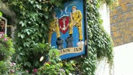 Stock Video Footage of Old fashioned traditional Inn in Cornwall, Great Britain