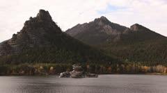 The autumn landscape. Stock Footage