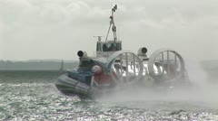 HOVERCRAFT PORTSMOUTH - stock footage