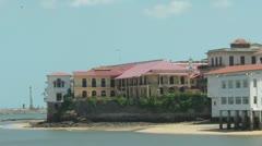 Casco Viejo The Old Area Of Panama City Stock Footage