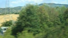 Eurostar Travel in Rome 3 MVI 4309 Stock Footage