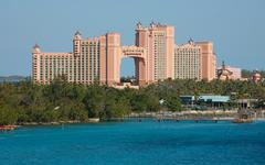 Stock Photo of nassau-feb4: atlantis paradise island feb 4, 2013 in nassau, bahamas. the roy