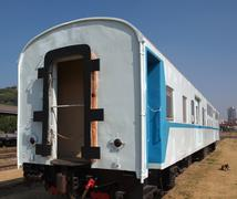 old train car - stock photo