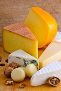 Stock Photo of cheese platter