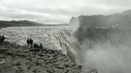 Stock Video Footage of Dettifoss