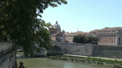 The Papal Basilica of Saint Peter in the Vatican Stock Footage