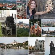 Prague landmarks Stock Photos