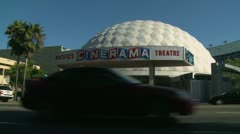 Cinerama Dome, Wide Stock Footage