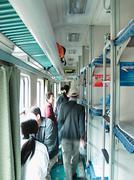 Train interior,travel Stock Photos