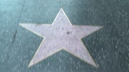 Stock Video Footage of Hollywood Walk of Fame
