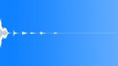 Glass piece break 06 Sound Effect