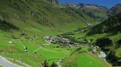 Alps landscape. Stock Footage