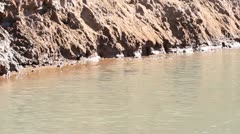 Stock Video Footage of water in the river
