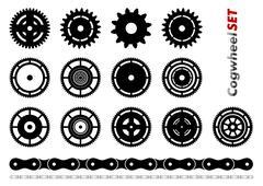 Cogwheel Stock Illustration