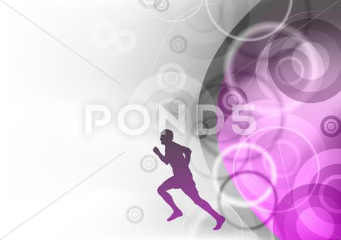 Stock Illustration of running