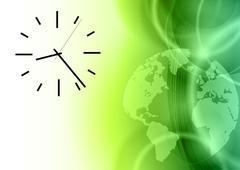 time - stock illustration