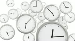 Time background Stock Footage