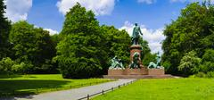 bismarck memorial berlin - stock photo