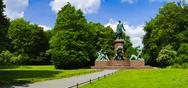 Stock Photo of bismarck memorial berlin