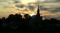 Église St-Ludger - stock footage