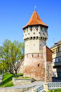 Stock Photo of defense tower in sibiu